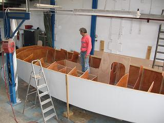 Construction aménagement voilier Nestor
