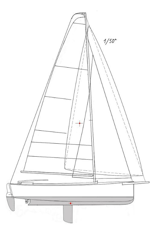 Day-Boat 6,30, vue de profil